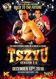Aussie prospect watch: Junior middleweight Tim Tszyu