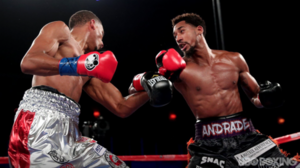 Andrade Dominates Fox In Middleweight Debut