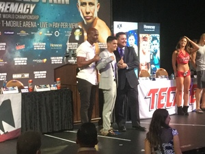 Joseph Diaz and Undercard Press Conference