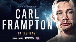 Frampton decisions Garcia in Belfast