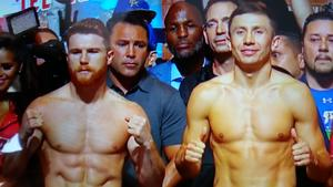 Golovkin And  Alvarez Discuss Rematch From Their Respective Camps