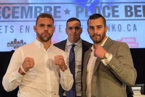 Saunders And Lemieux Face To Face In Montreal