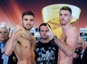 Smith And Skoglund Make Weight In Liverpool
