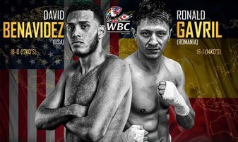 Benavidez climbs off canvass to edge Gavril for the WBC Super Middlweight Championship