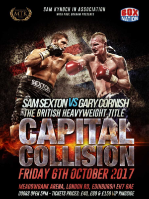 Sexton beats Cornish to win the British Heavyweight Championship