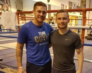 "Carl ""The Jackal"" Frampton links up with Jamie Moore"