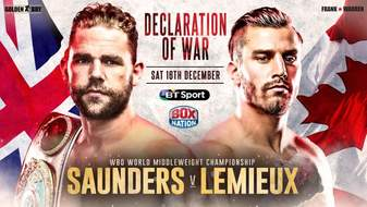 Stamina could be the key in Saunders vs, Lemieux fight