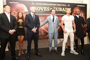 Groves And Eubank Jr. Face To Face At Heated Press Conference