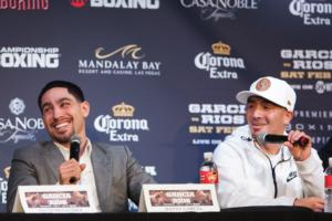Garcia And Rios Come Face To Face In LA