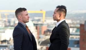 Frampton and Donaire face to face