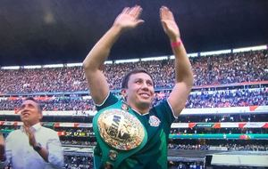 Golovkin Receives Heroes Welcome In Mexico City
