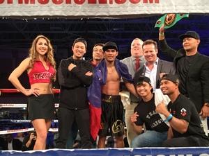Palicte KO's Rodriguez in Austin
