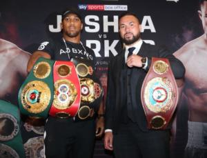 Video: Joshua Vs Parker London Press Conference