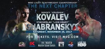 "Kovalev returns, but will he be the ""Krusher"" of old?"