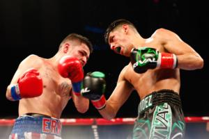 Hernandez Edges Out Garza Over 10 Rounds