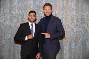 Khan Signs Three Fight Promotional Deal With Matchroom Boxing