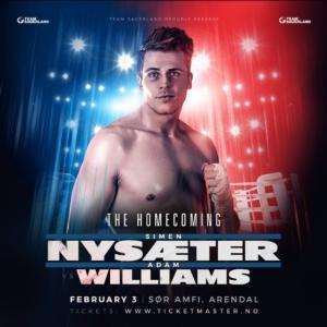 Nysaether Fights Again On Feb 3