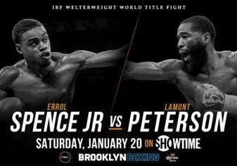 Something to prove? Errol Spence and Lamont Peterson ready to go