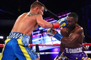 Lomachenko Forces Rigondeaux To Quit In New York