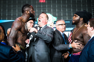 Wilder And Stiverne Weigh In For Rematch