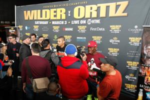 Deontay Wilder And Luis Ortiz Motivated For Victory On March 3