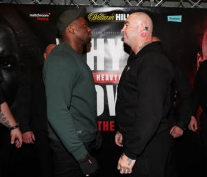 Whyte And Browne Get Real At Press Conference