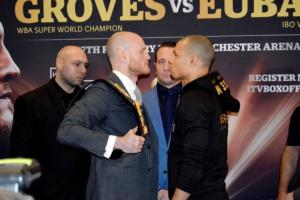 Watch Groves Vs Eubank and Full Underdard Weigh-In