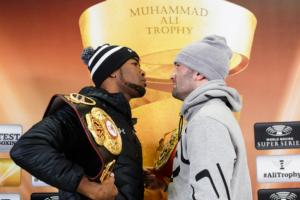 Gassiev and Dorticos head to head