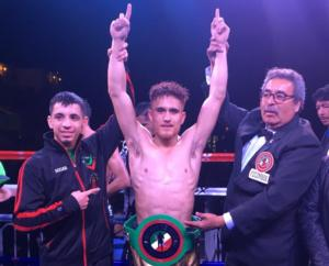 Avelar Captures Featherweight Title In Aguascalientes
