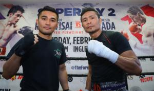 Nietes And Viloria Work Out In LA