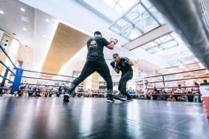 Usyk And Briedis Work Out In Riga