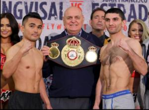 Dalakian And Viloria Make Weight For Vacant Title Clash