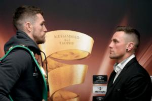 Smith Motivated By Grove's Ringside Presence