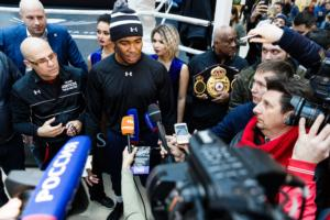 Gassiev And Dorticos Hold Public Workout In Sochi