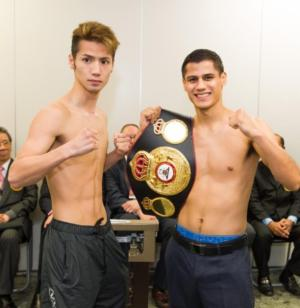 Roman And Matsumoto Weigh In For Title Bout