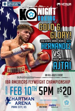 Hernandez Returns Against Ajtai on Feb 10