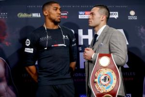 Anthony Joshua Has A Fear, A Fear Of Losing/Joseph Parker Feels Ready, Confident And Sharp