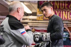 Dmitry Bivol Targets Light Heavyweight Unification Fights
