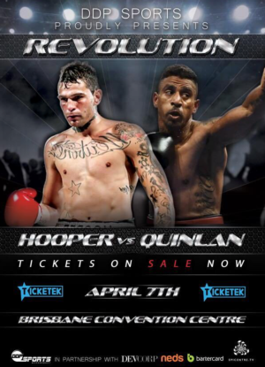 Damian Hooper And Renold Quinlan To Battle In Brisbane