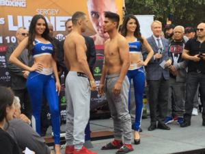 Mikey Garcia And Sergey Lipinets Hit The Scales In San Antonio
