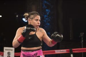 Marlen Esparza Is A Knockout At LA Fight Club