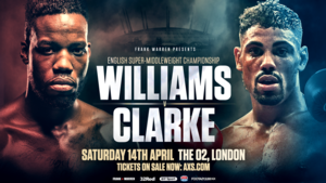Williams Puts His English Title On The line In London