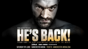 Tyson Fury Signs Exclusive Promotional Deal/Returns June 9