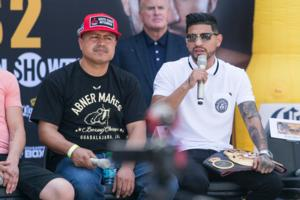Abner Mares and Robert Garcia