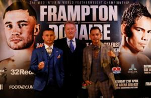 Carl Frampton Says Fighting Nonito Doniare Is An Honour