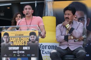 Santa Cruz Snr And Jr Expect A Better Prepared Abner Mares In Rematch