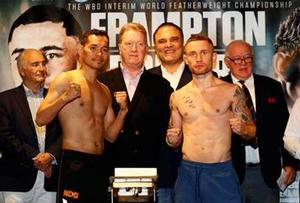 Carl Frampton And Nonito Donaire Make Weight In Belfast