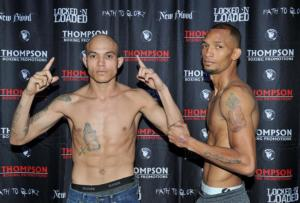 Robert Arriaza And Juan Ruiz Make Weight