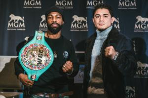 Russell Jr And Diaz Jr Kick Off Press Tour