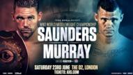 Saunders vs. Murray WBO title fight lands on ESPN June 23